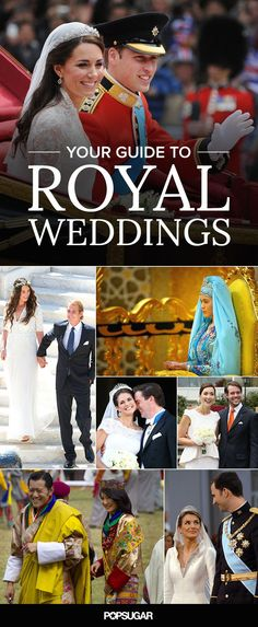 While millions of people watched Prince William and Kate Middleton's big day, there have been so many other royal weddings (some even more lavish) that we didn't pay as much attention to. From the wedding for the future emperor of Japan in 1924 to Grace Kelly's Monaco spectacular in 1956, here is a guide to the world's royal weddings over the years.