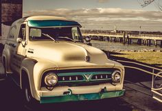 Ford F199 @ Red Hook |  #FORD #F199 #RedHook  with views of #StatueOfLiberty and #NewYork #harbor in #Brooklyn