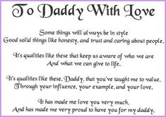 missing my daddy quotes | Father Quotes 10