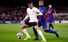 Descargar fondos de pantalla Joao Cancelo, 4k, jugadores de fútbol, La Liga, el fútbol, el Valencia