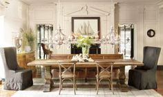 Beautiful dining room table