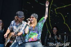 Cloverdayle at The Gorge Amphitheatre. #Watershed #Festival #Country #Music