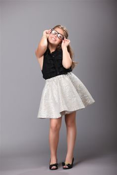 Cecilia Cassini – The 10-Year-Old Fashion Designer    SERIOUSLY I need to get to get sewing...