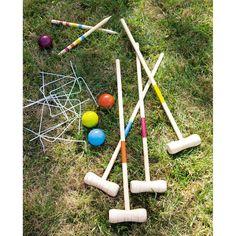 Les bonnes adresses: Les jeux en bois - L'atelier des trouvailles Jeu de Croquet