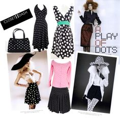 """""""Polka Dot Paradise"""" by closetdash on Polyvore"""