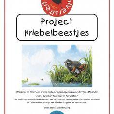 Project Kriebelbeestjes - bij het prentenboek Wasbeer en Otter redden een rups - Bianca Oldenbeuving