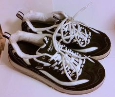 Women's Size 8 Black & White Sketchers Shape- Ups Sneakers Tennis Shoes #Sketchers #WalkingHikingTrail