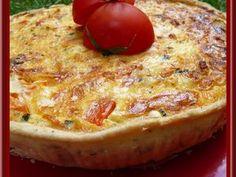 Découvrez la recette Tarte courgettes, bacon et tomates avec thermomix sur cuisineactuelle.fr.