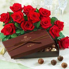 Roses And Cadbury Chocolates