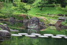 Gunma Flower Park, Maebashi-shi(city) Gunma-ken(Prefecture), Japan Japanese style garden / 日本庭園(にほんていえん)