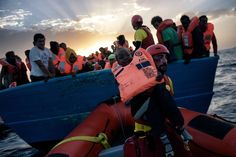 With the lion's share of migrants who embark across the Mediterranean ending...
