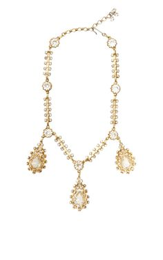 Christian Dior Drop Necklace by House of Lavande for Preorder on Moda Operandi