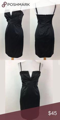 "White House Black Market dress Waist: 27"" Bust: 31"" Shoulder to hem: 36.5"" 97% polyester, 3% Spandex. Lined in 94% polyester, 4% Spandex.  Item #1184 White House Black Market Dresses"