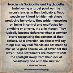 #narcissist  #ToxicPeople patterns. Point it out, & they get defensive and create a diversion