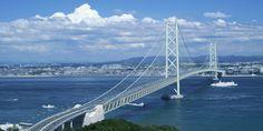 6. Akashi Kaikyo Bridge, Akashi Strait, Japan