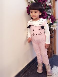 9e3852a734f Girl s Clothing · Buy Urb-N-Angels PINK CAT PATTERN Online at Low prices in  India on