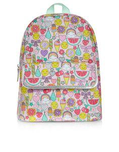 Emoji Symbol Backpack