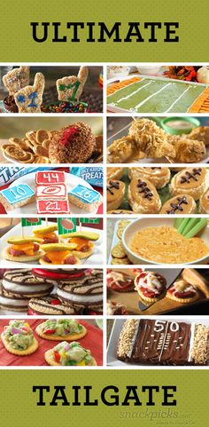 Time to start thinking about Football tailgating parties.  Here are some great recipe ideas.