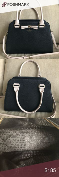"""Kate Spade Henderson Street Sawyer Bag Kate Spade Henderson Street Sawyer bag in black! This bag measures 7.8"""" in height and 11.3"""" in length. Gorgeous bag in great condition! kate spade Bags Crossbody Bags"""