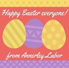 Happy Easter everyone 😄