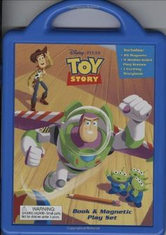 Toy Story Book & Magnetic Play Set by Disney Enterprises and Pixar, http://www.amazon.com/dp/1423115589/ref=cm_sw_r_pi_dp_Pyabrb0D7KMZ5