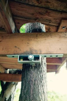 Treehouse attachment bolts, tab's