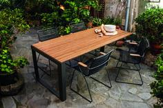 Sparewood table et click chair Houe Design outdoor danois