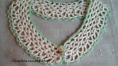 Delicate Hand Crocheted Collar | FaveCrafts.com