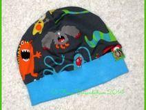 """Beanie-Mütze """"Monster"""" 44-46 cm KU"""