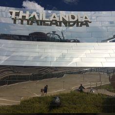 Thai Pavilion @Expo2015Milano #ThaiRice #ThaiFood #Thailand #LandOfSmile