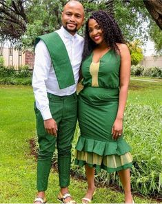 African Traditional Wear, Pairs, How To Wear