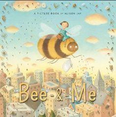 Libro la abeja y yo de Alison Jay