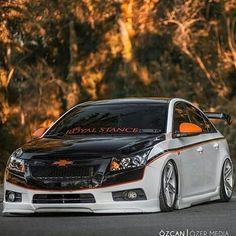 Chevy Cruze #Chevrolet #Cruze My Dream Car, Dream Cars, 2012 Chevy Malibu, General Motors Cars, Car Mods, Tuner Cars, Chevrolet Cruze, Modified Cars, Dream Garage