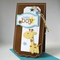 Adorable boy card!