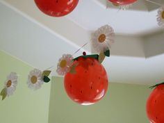 Ideas for party decoration Strawberry Shortcake - Tips for Mom