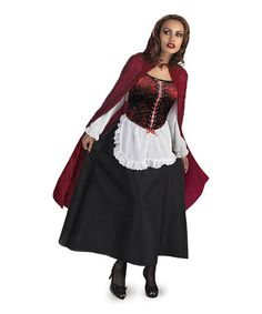 Look what I found on #zulily! Little Red Riding Hood Costume Set - Women #zulilyfinds