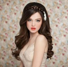 So before you decide which hairstyle to wear for your wedding checkout this 45 best wedding hairstyles for long hair. 2015 Hairstyles, Wedding Hairstyles For Long Hair, Fancy Hairstyles, Wedding Hair And Makeup, Bride Hairstyles, Bridal Makeup, Bridal Hair, Hair Makeup, Short Hair