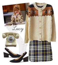 """Lucy Moran"" by suityerself ❤ liked on Polyvore featuring Kate Spade, Sole Society, Gucci, twinpeaks and lucymoran"