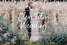 Clear Film Wedding Preset for Lightroom & Photoshop These Presets will create a clear film toned photo edit. Clear Film Wedding helps brighten up shadows, Photography Camera, Portrait Photography, Wedding Photography, Travel Photography, Photography Ideas, Web Design, Logo Design, F Stop, Wedding Presets