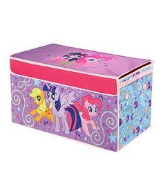 This My Little Pony Collapsible Storage Trunk by My Little Pony is perfect! #zulilyfinds