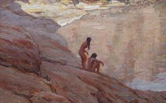 maynard-dixon-the-pool.jpg 400×249 pixels