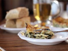 Spinach and Mushroom Alfredo Lasagna | Veggie and the Beast