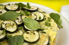 Tortilla with Courgettes