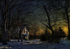 The Day's Last Rays ~ Mira Gut, Nova Scotia, Canada ~ Photo by...Robert C. Thomson©