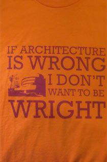 Architecture is Wright T-Shirt – Vintage T-Shirt Review – Retro Duck | Vintage T-Shirt Design Reviews