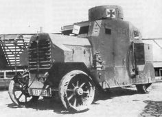 Erhardt Freikorps armored car in 1918.
