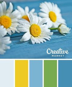 16 Ideas Wedding Colors Palette Pantone For 2019 Color Schemes Colour Palettes, Spring Color Palette, Colour Pallette, Spring Colors, Color Combos, Yellow Color Schemes, Color Blue, Blue Palette, Blue Yellow