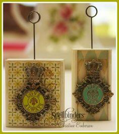 royal medallion memo holders