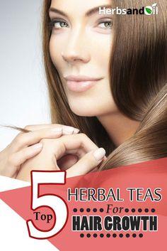 Top 5 Herbal Teas For Hair Growth