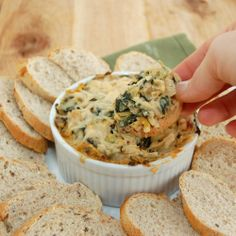 Hot Spinach and ArtichokeDip